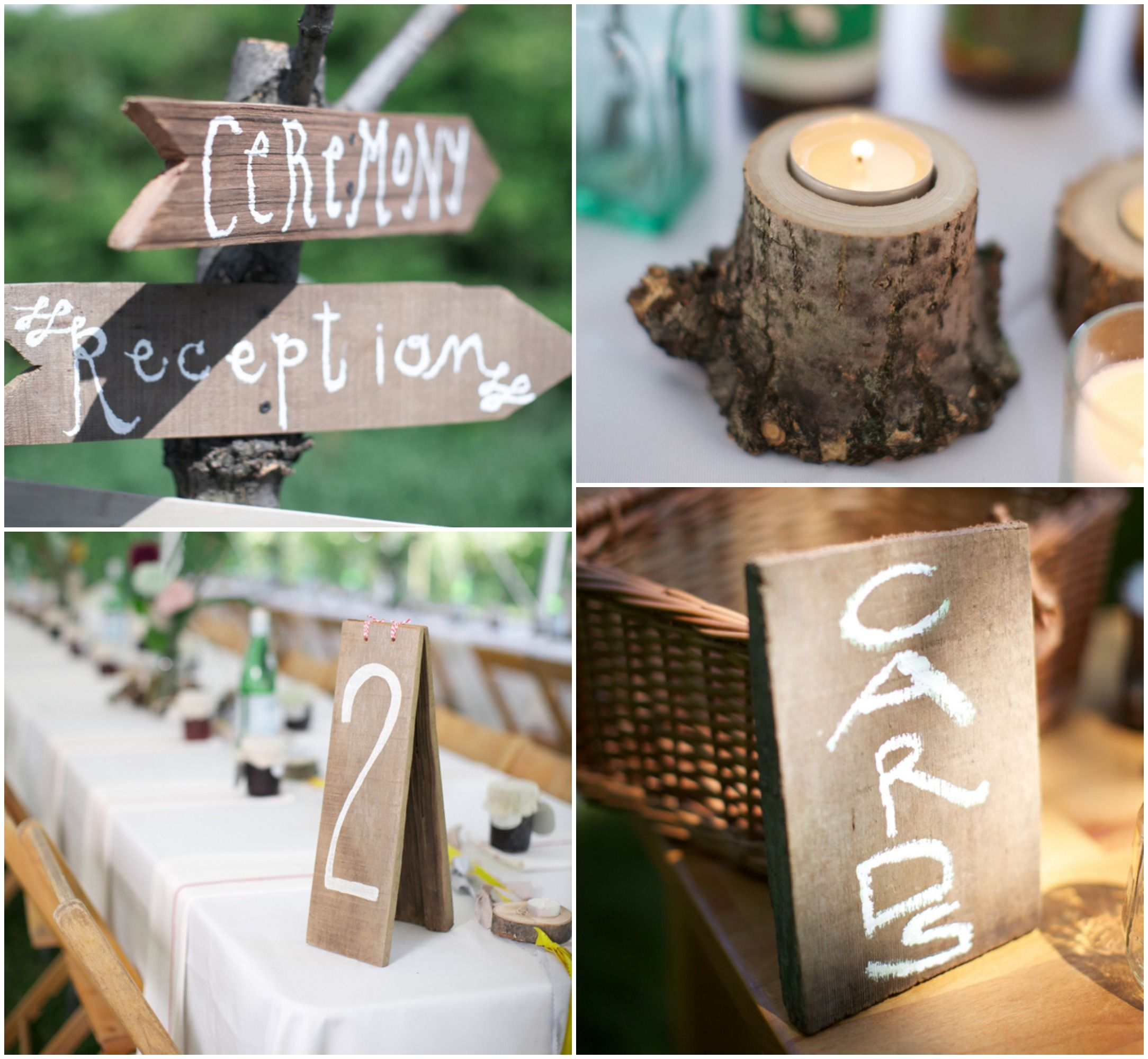 rustic camp style wedding wedding backyards and wedding decorations