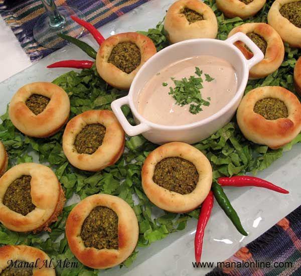 فطاير الفلافل Recipes Lebanese Recipes Lebanon Food