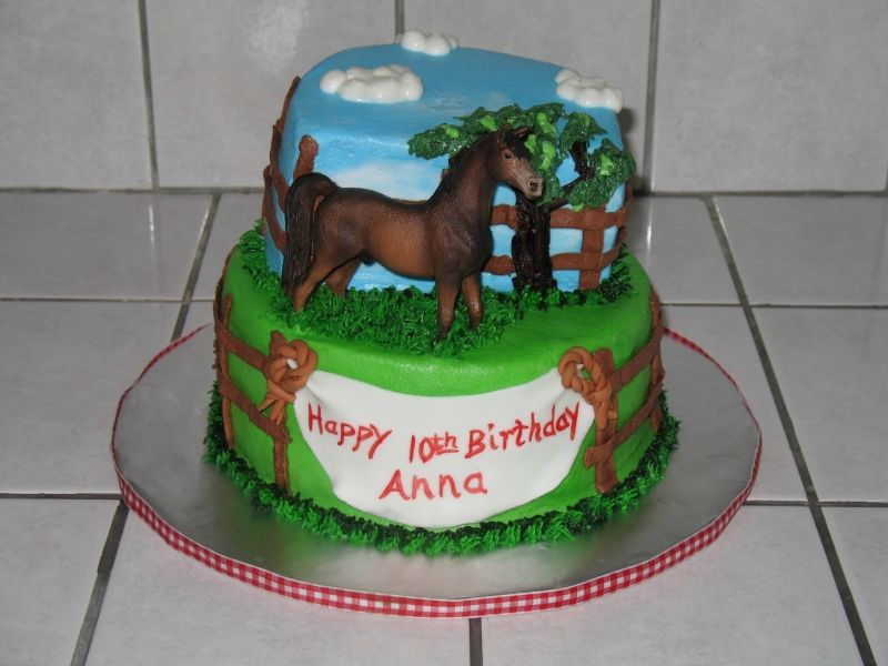 Horse Themed Birthday Cakes Horse Birthday Cakes  Decoration - Horse themed birthday cakes