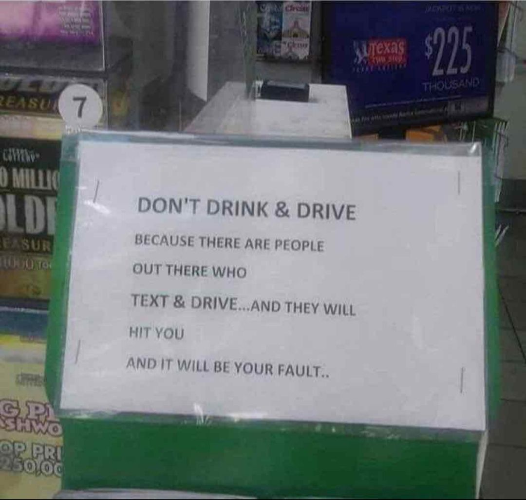 Don T Drink And Drive Dont Drink And Drive Driving Quotes Funny Pictures