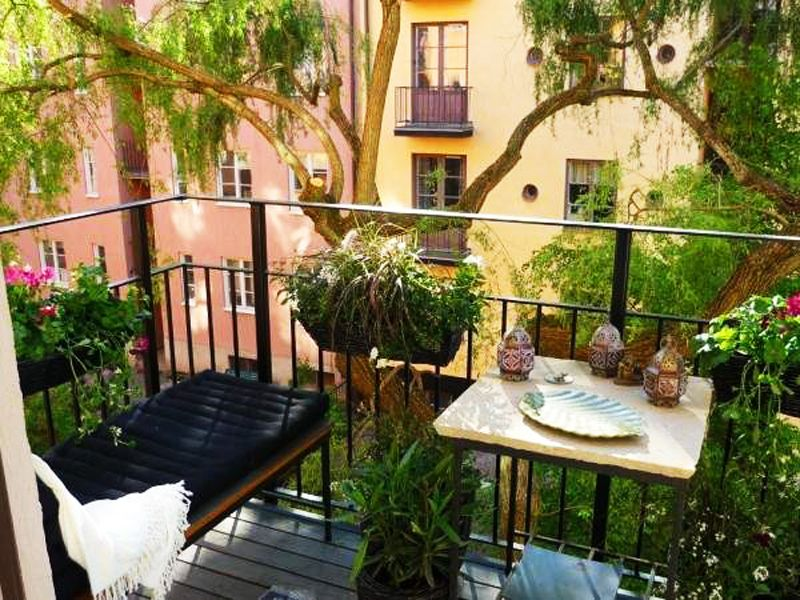 Lovely Balcony Ideas Apartment