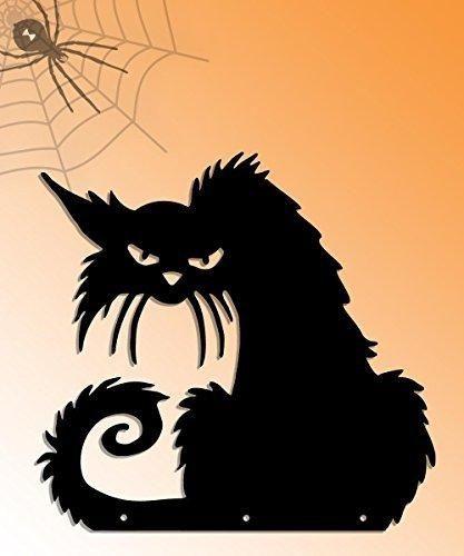 Black Cat Halloween Decoration - Indoor / Outdoor Decoration - 16