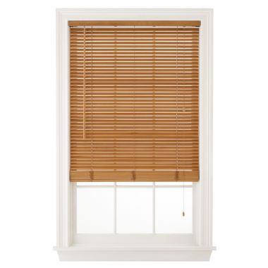 Jcpenney Curtains And Blinds.Jcpenney Home 1 Natural Basswood Horizontal Blinds Found