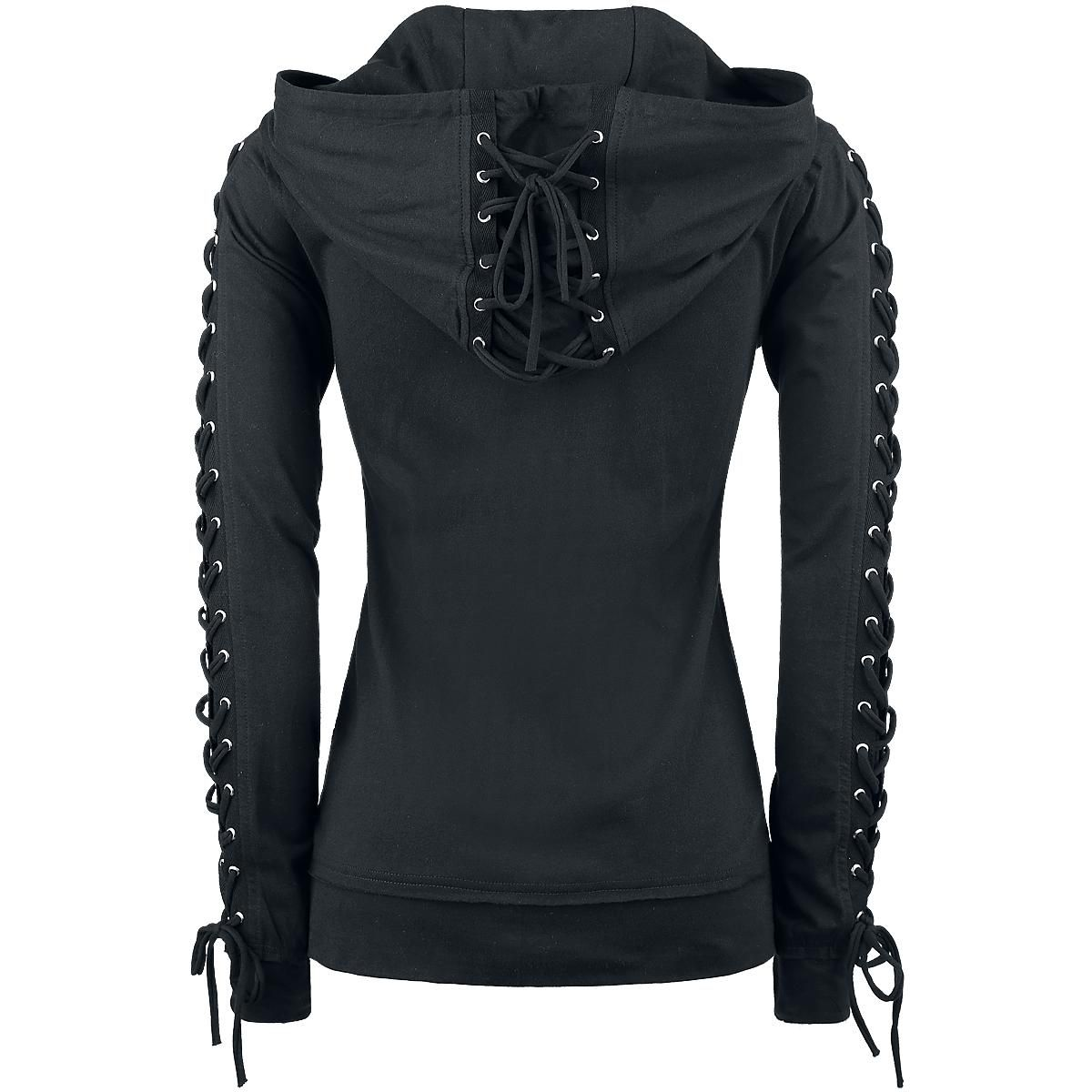 Corded Hood - Girls hooded zip by Gothicana by EMP - Article Number  274786  - from 39.99 € • EMP 96233084dec