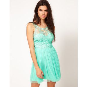 mint and lace. adorable.