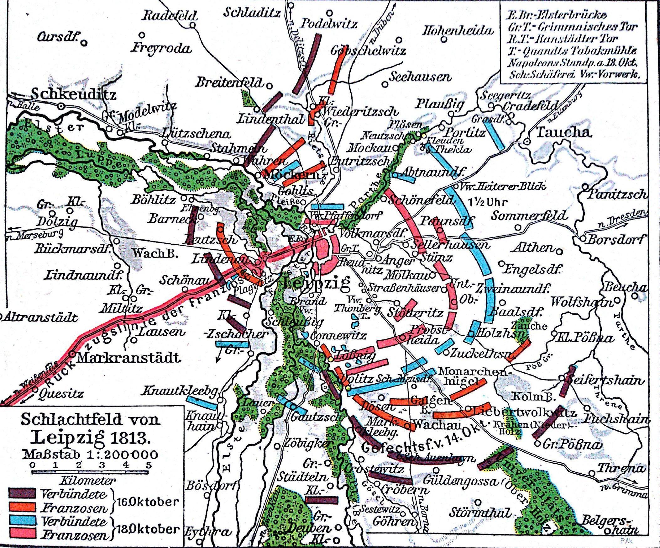 Battle of Leipzig MAPS Pinterest