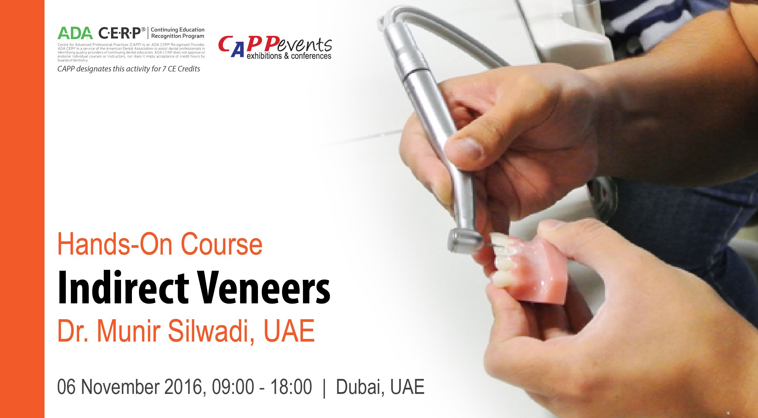 Ceramic Veneers Present One Of The Most Conservative Aesthetic Treatment Modalities Join Dr Munir Silwadi At His Hands On Course Dentistry Veneers Hygienist