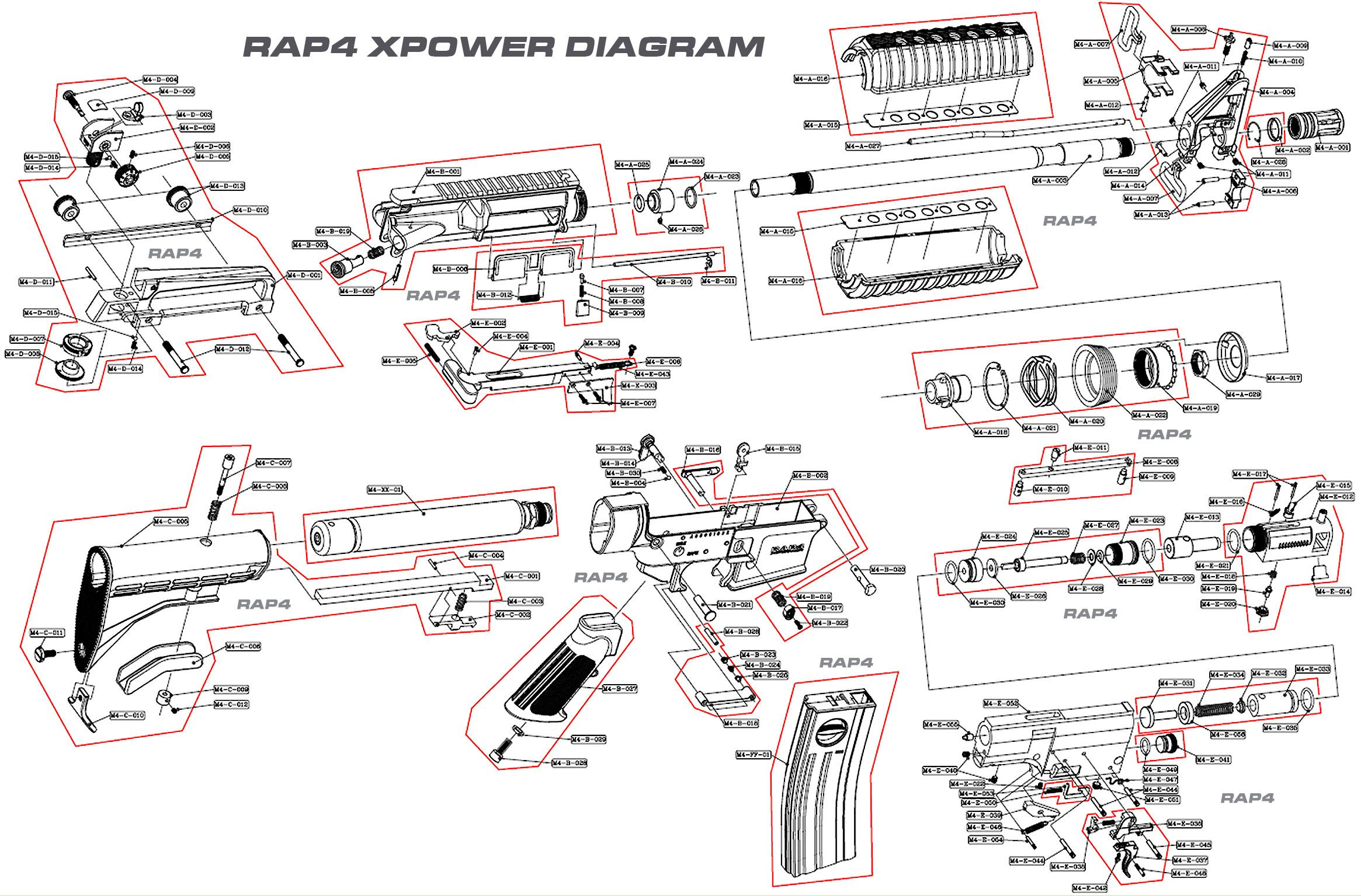small resolution of m4 carbine schematic