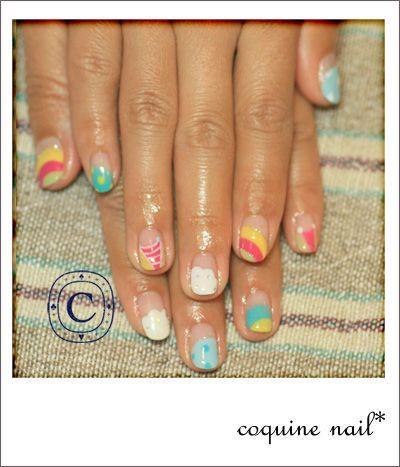 カラフル続き。 | KiccA nail
