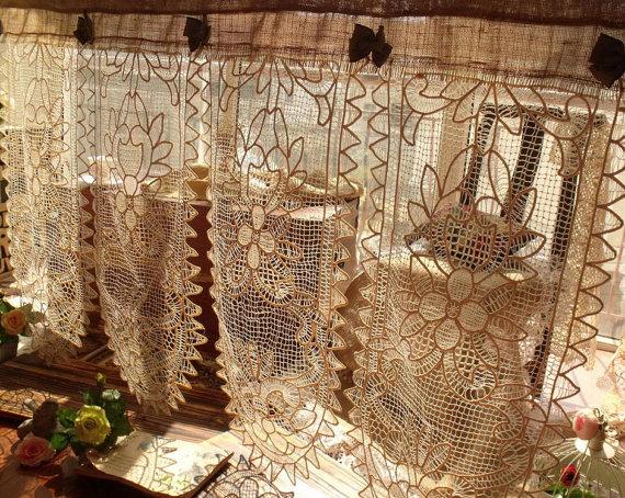 25 melhores ideias de cortinas vintage no pinterest for Cortinas vintage