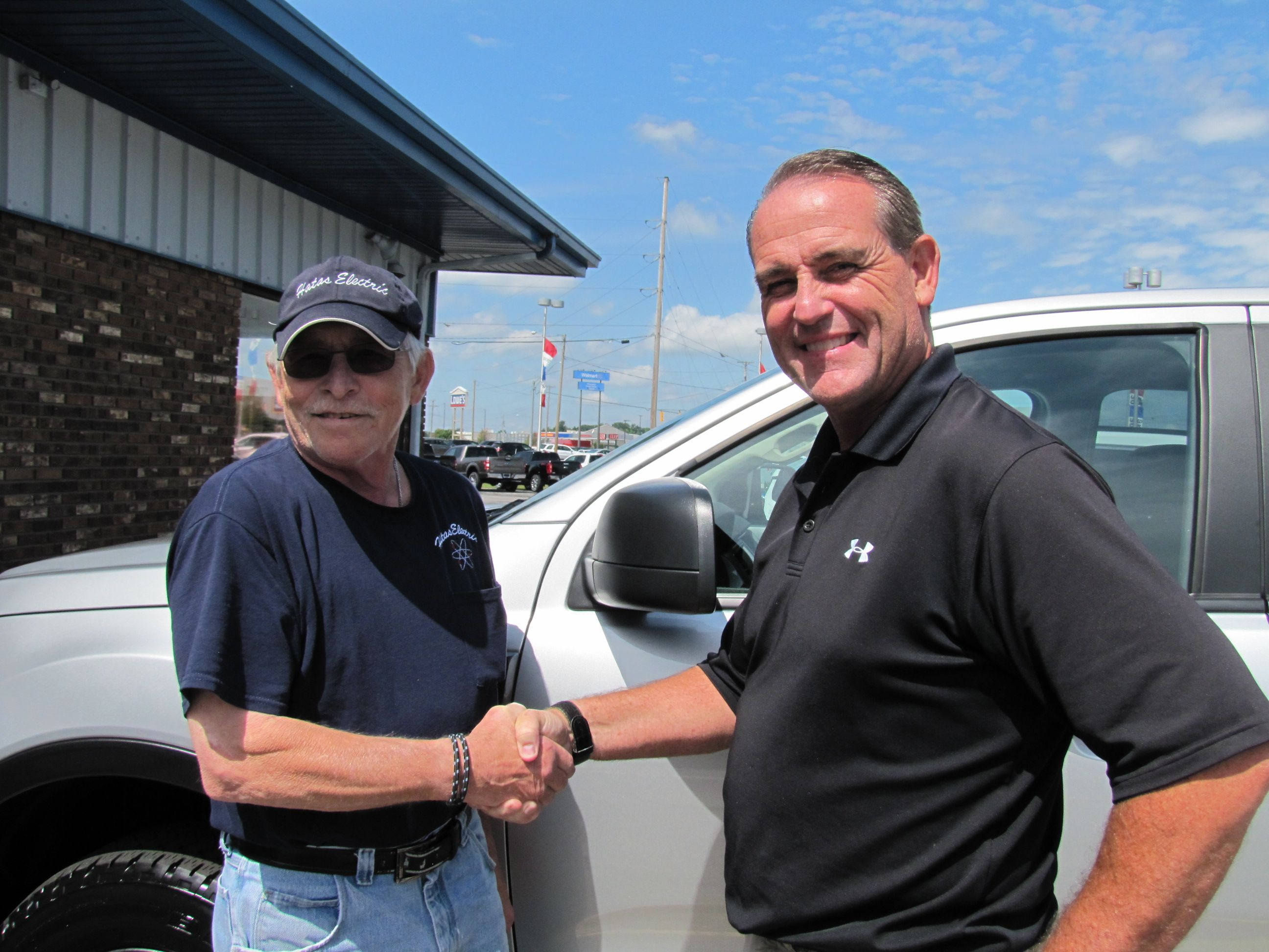 Picture David Hatas With Kelly Belcher Congratulations Dave On