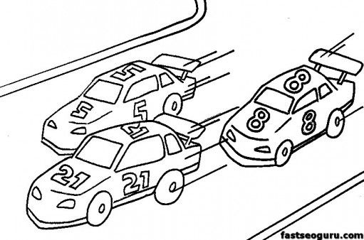Free Online Racecar Coloring Pages For Kids Printable Coloring Pages For Kids Race Car Coloring Pages Coloring Pages For Kids Kids Printable Coloring Pages