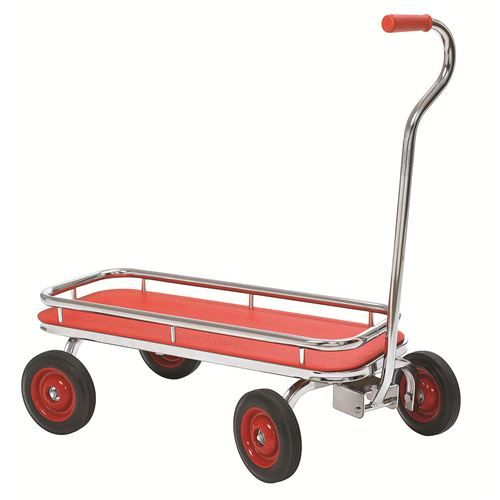 Angeles AFB0700SR SilverRider Wagon Trike AFB0700SR Specifications  Age Range: 2-8 Year Olds Collection: SilverRider Country of Origin: USA Length: 35 Materials: Metal/Rubber Weight: 42 Width: 20-1/2