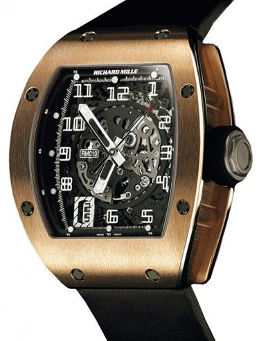 Richard Mille | Skeletonized Automatic | Red Gold | Watch database watchtime.com #RichardMille #luxurywatch