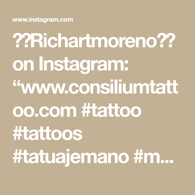 "⚓️Richartmoreno⚓️ on Instagram: ""www.consiliumtattoo.com  #tattoo #tattoos #tatuajemano #manostatuadas #tatuados #ink #blackandgrey #black #consiliumtattoo #CTS…"""