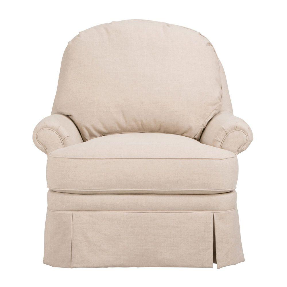 Charlotte Swivel Chair Ethan Allen Us Light Blue Plaid
