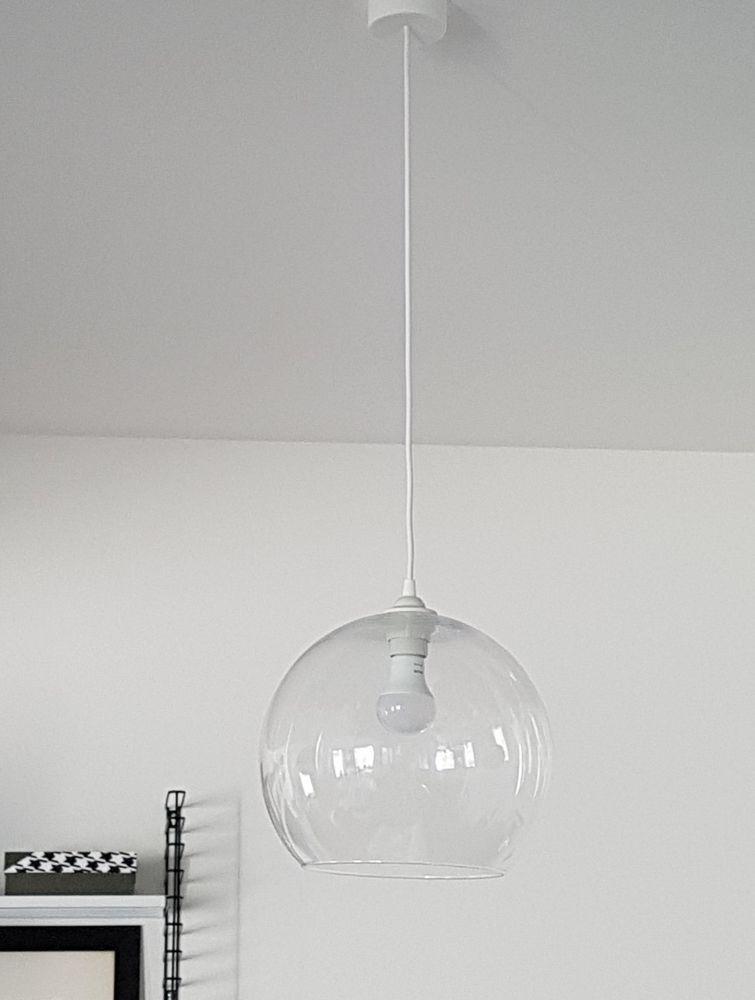 ikea jakobsbyn glas lampenschirm h ngeleuchte deckenlampe lampe pendel lampe m bel wohnen. Black Bedroom Furniture Sets. Home Design Ideas