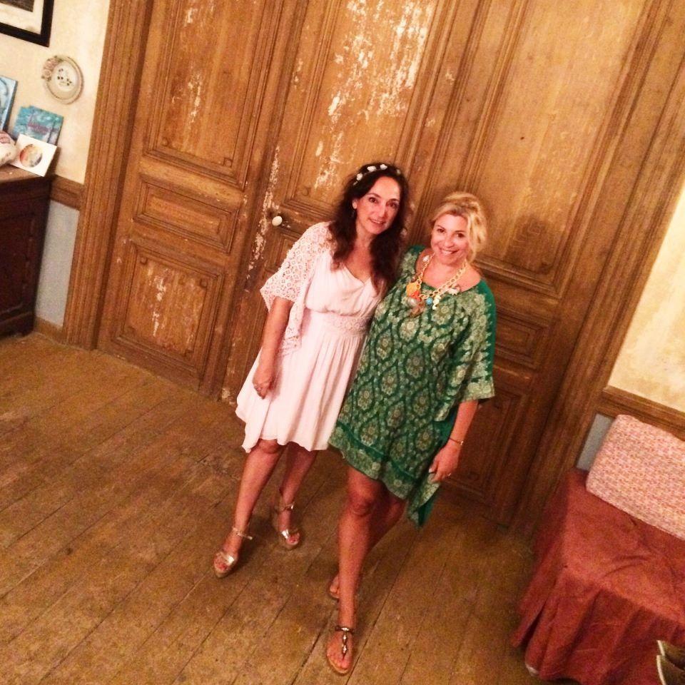 Lovely Christina Politi wears Kondylatos summer jewellery!