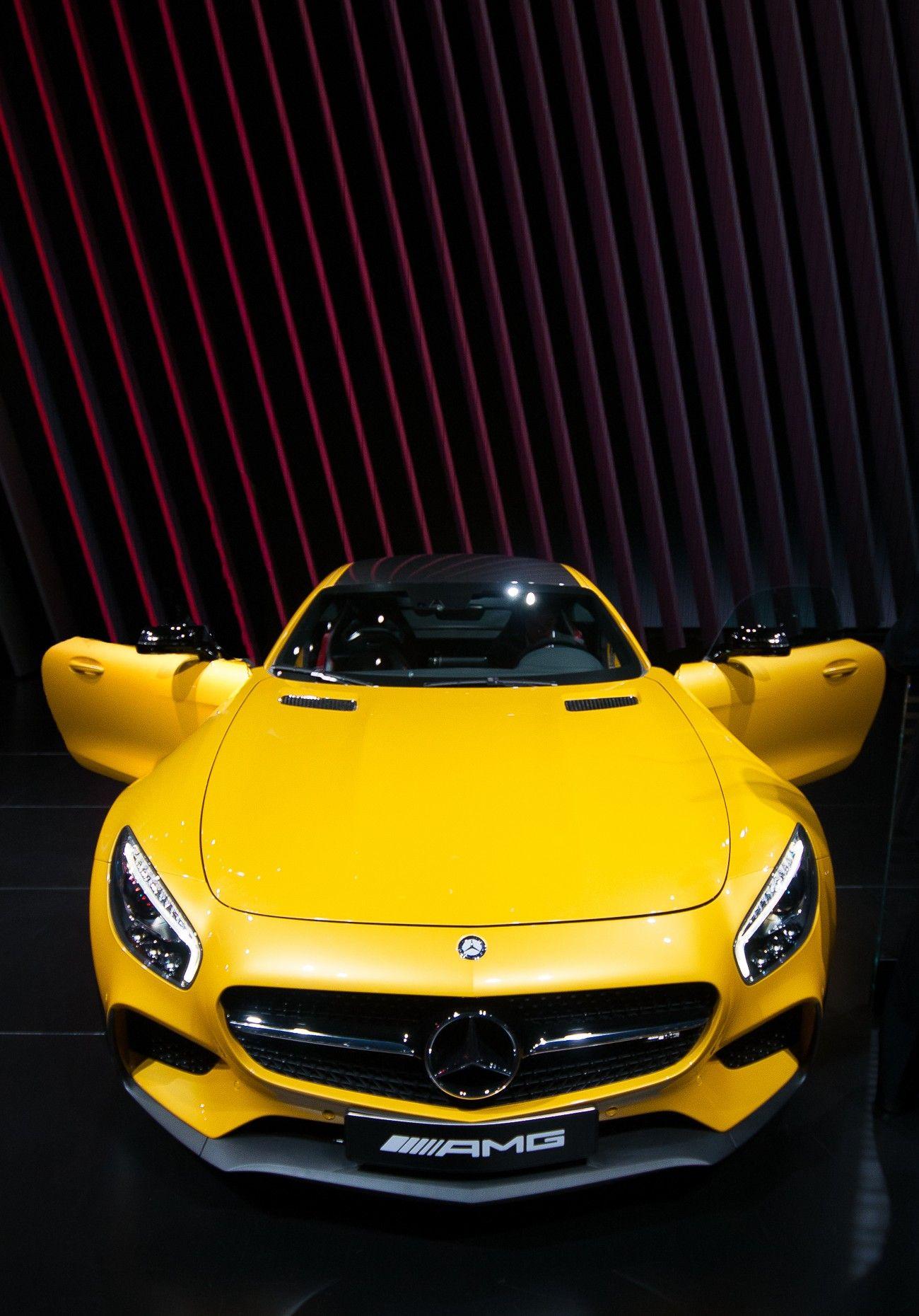 Mercedes-Benz AMG GT Coupé - this car | CARS | Pinterest ... on