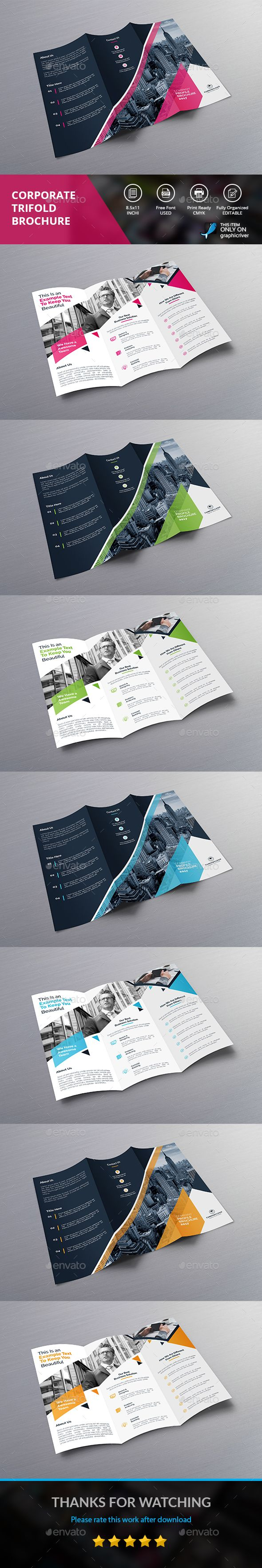 TRI FOLD BROCHURE Corporate Brochures Download here s graphicriver
