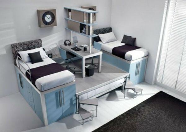 Praktische Idee-kleines Schlafzimmer Jugendliche | Coole Zimmer ... Zimmereinrichtung Modern Schlafzimmer
