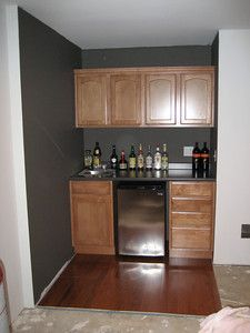Fresh Cabinets for Basement
