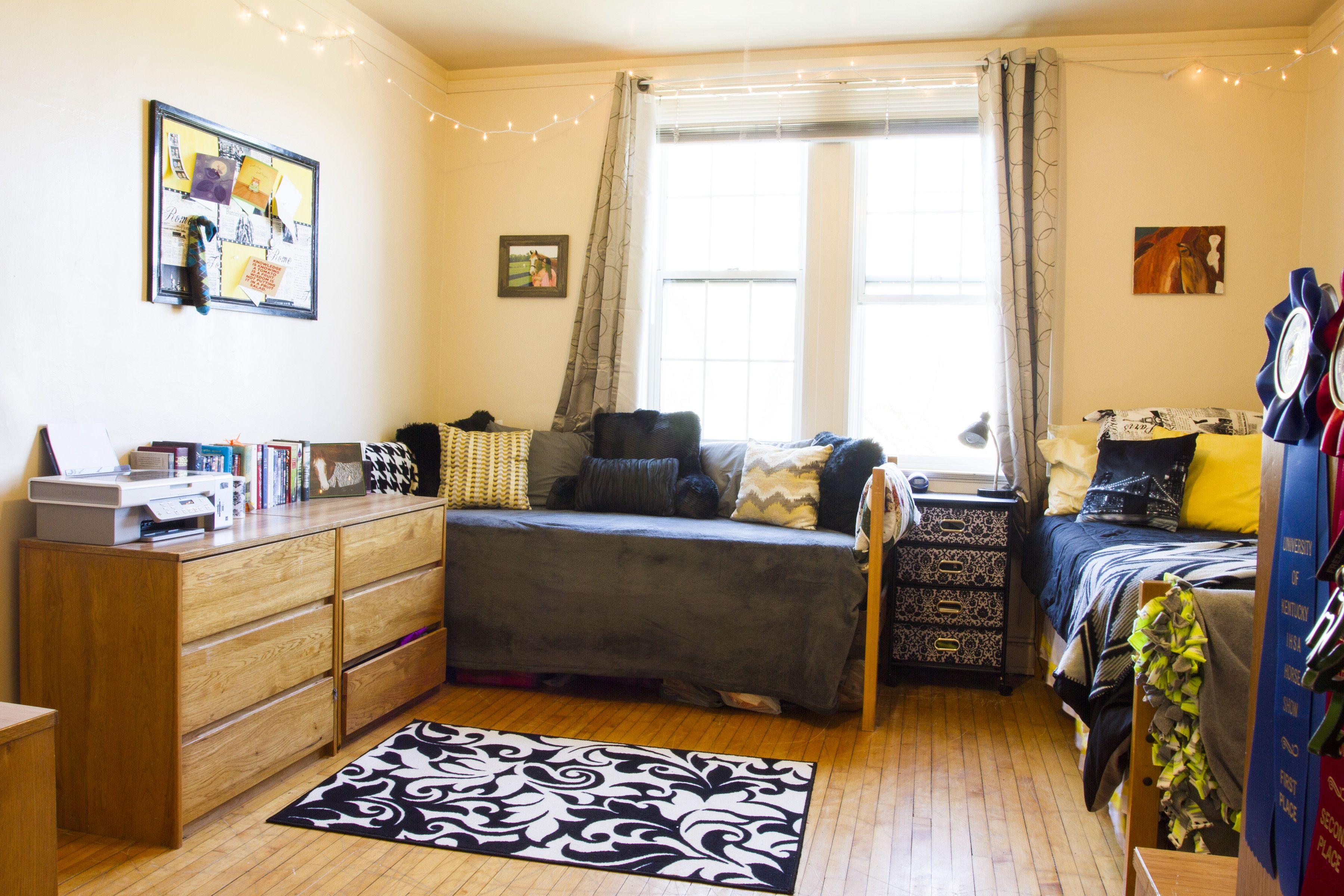 New College Dorm Setup Ideas