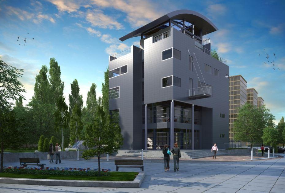 fachadas de edificios de 4 pisos modernos fachadas de