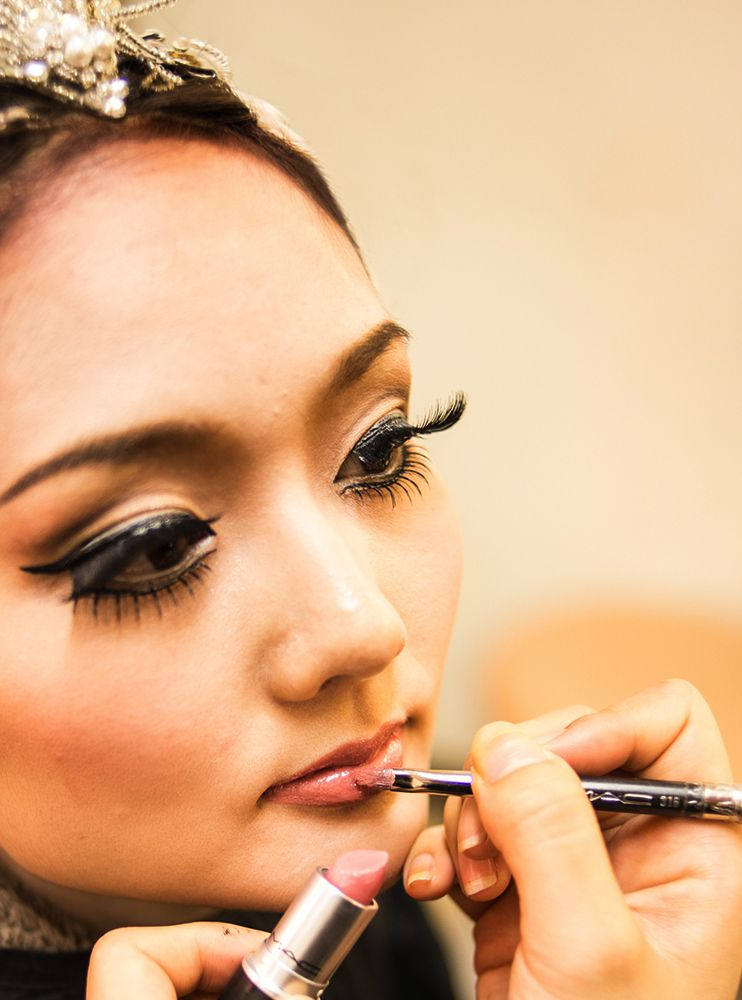 """maccosmetics: """" M·A·C, the official makeup sponsor of Asami Maki Ballet Tokyo's production of Swan Lake, gives you a backstage glimpse of what happens behind the scenes.Photos by: Michael Feather. """""""
