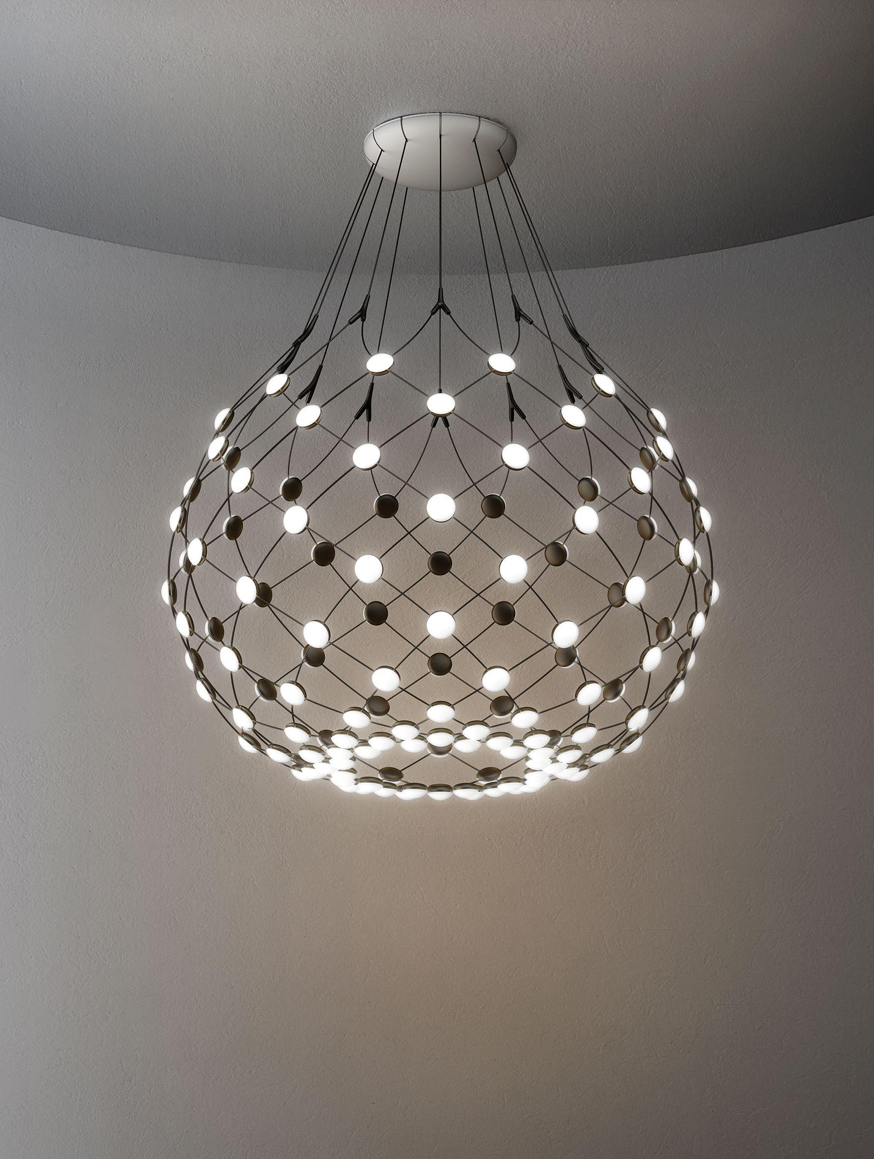 Luceplan MESH lamp by Francisco Gomez Paz