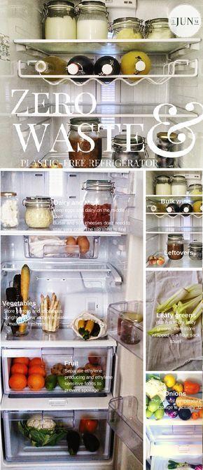 zero waste food storage plastic free green living