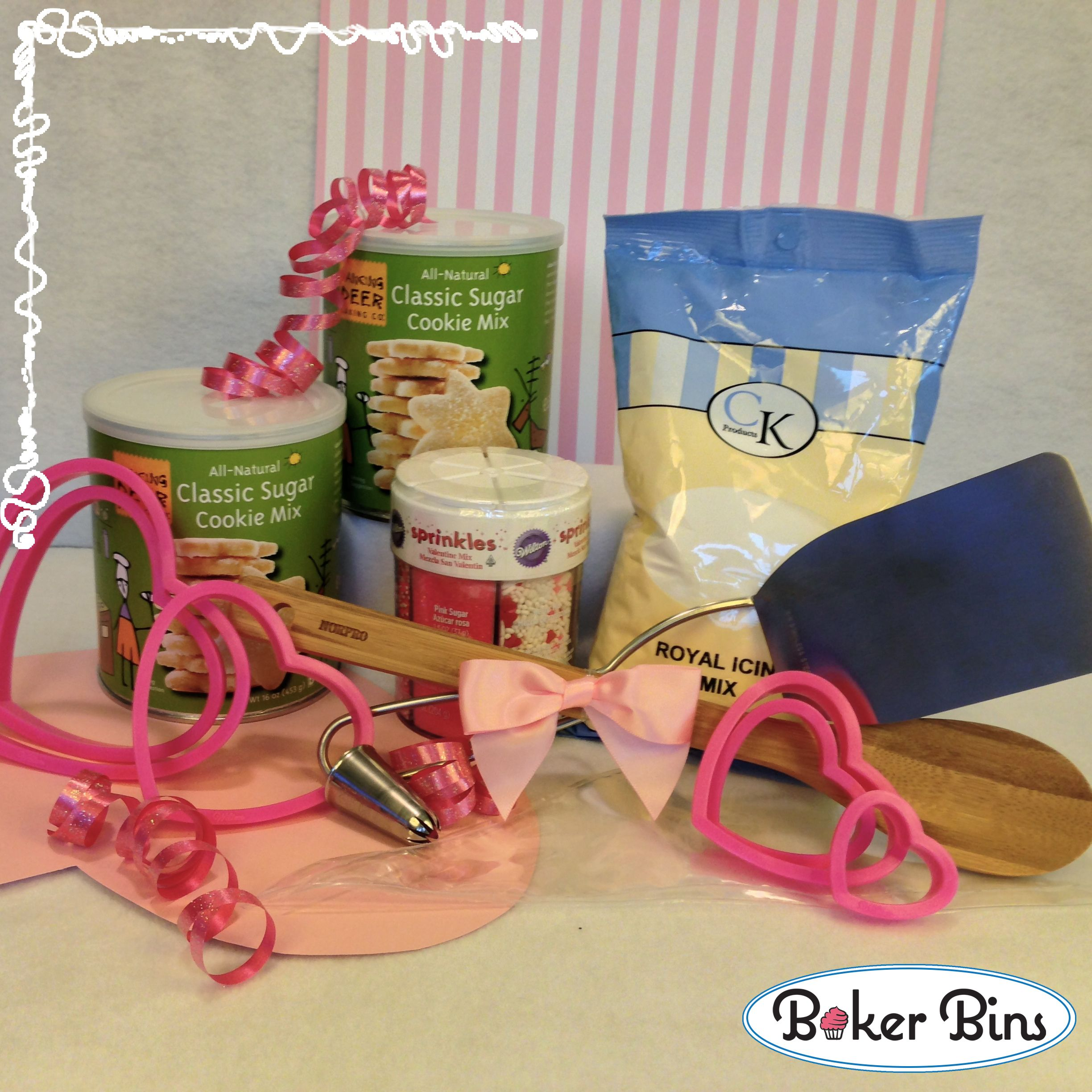 Fun new baking kits just in time for valentines day baker bins has fun new baking kits just in time for valentines day baker bins has gluten free negle