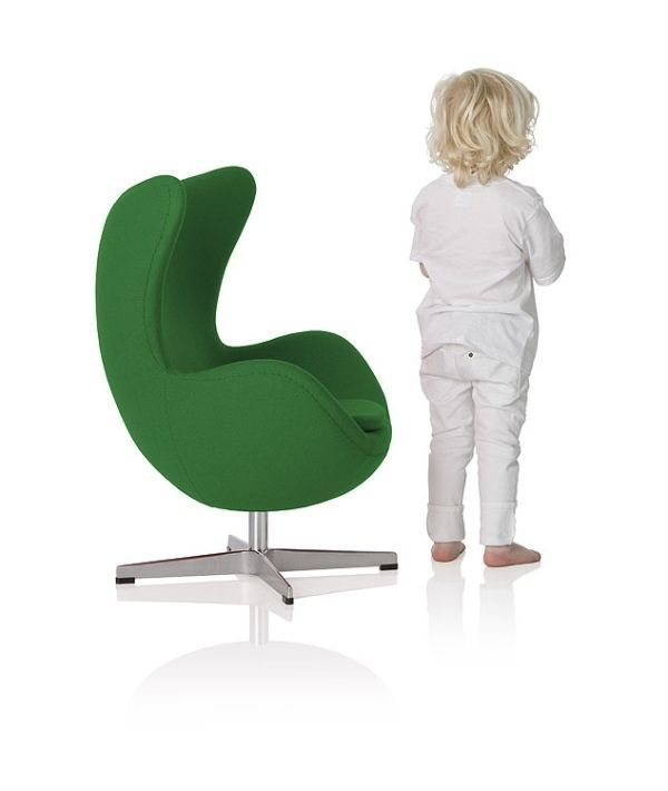 Beau Magnificenr Modern Style Childrens Chairs Green MEtal FRame In Egg Chair  Design For Kid In Play Room Space Design