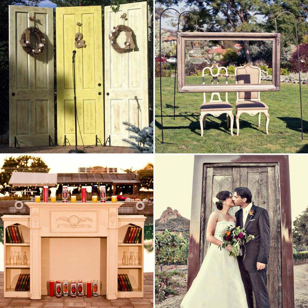 Uncategorized/outdoor vintage glam wedding rustic wedding chic - Outdoor Wedding Backdrops Bringing Furniture Outdoors Is A Lovely Backdrop Idea For Your Wedding
