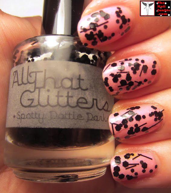 """All That Glitters """"Spottie Dottie Dark"""""""
