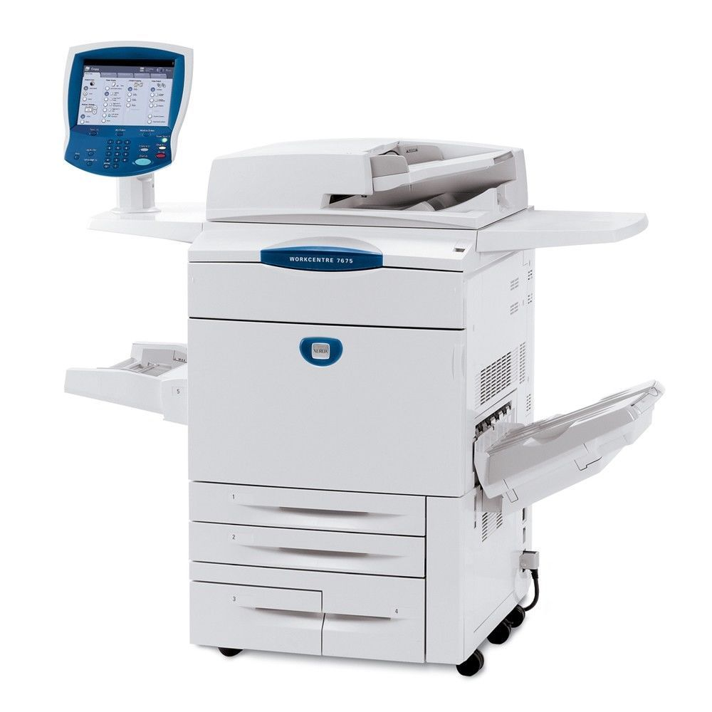 Xerox Workcentre 7675 Color Multifunction Printer Xerox