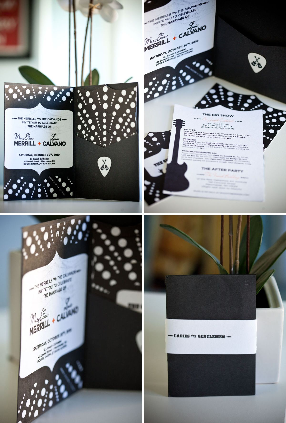 Rock Star Wedding Invitations So Personalized Pretty Stationery