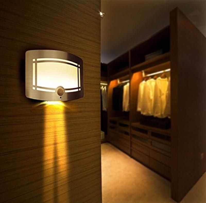Hot Led Wall Lamp Wireless Stick Anywhere Battery Powered Motion