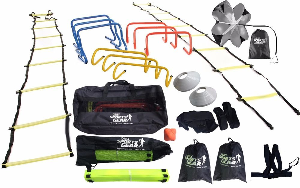 Osg Ultimate Multi Sports Fitness Training Equipment Speed Agility Kit Set Snr No Equipment Workout Agility Training Speed Training