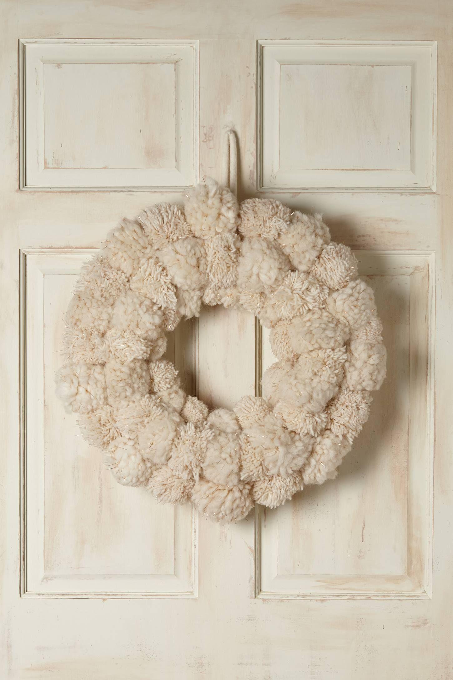 Snowball Fete Wreath anthropologie To do
