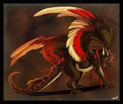 anime dragon human hybrid - Google Search   Mithical creatures