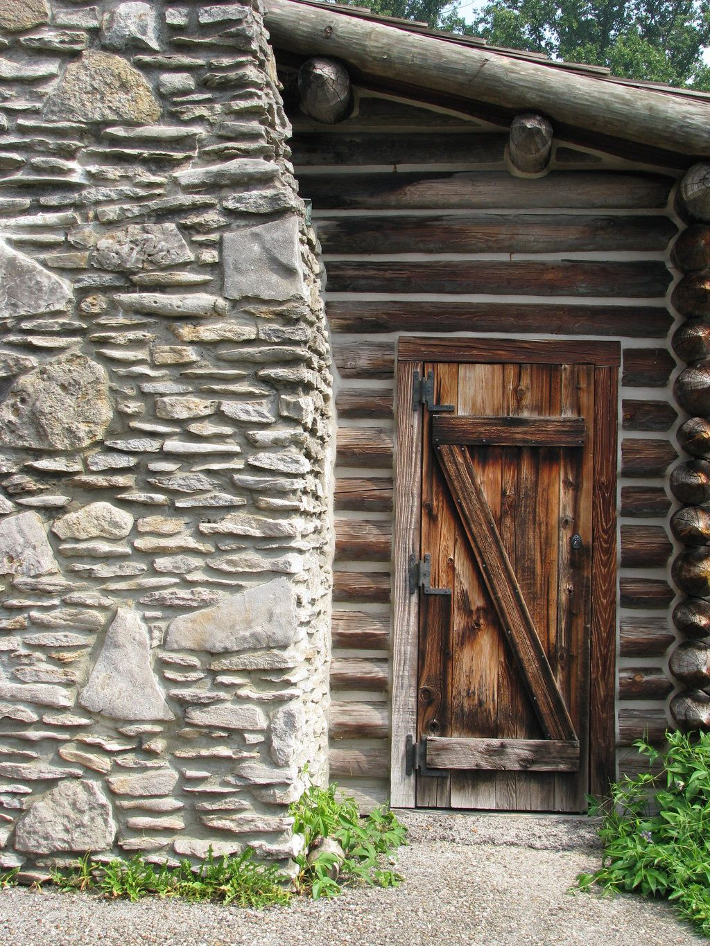 Awesome Log Cabin Entry Doors