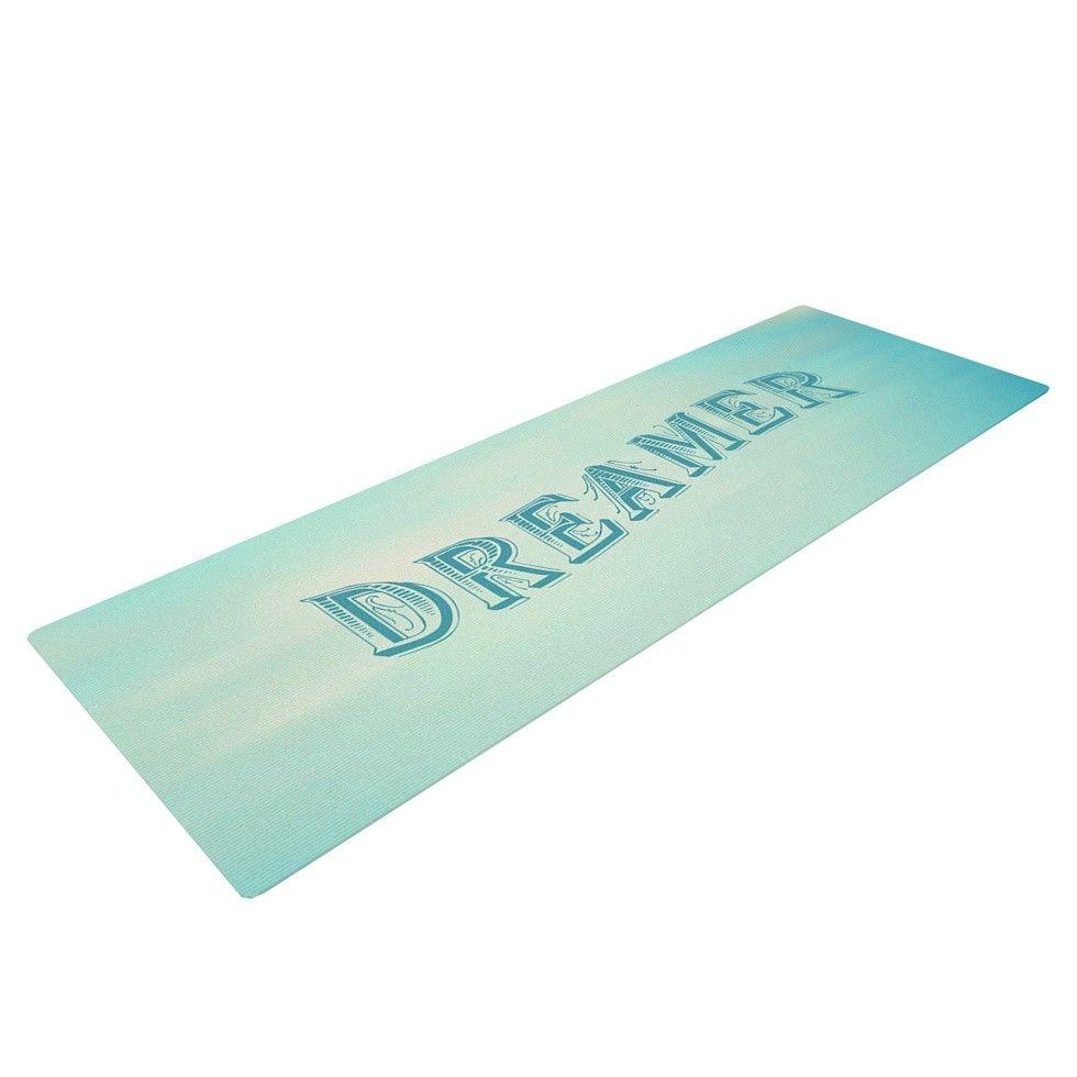 Dreamer by Ann Barnes Yoga Mat
