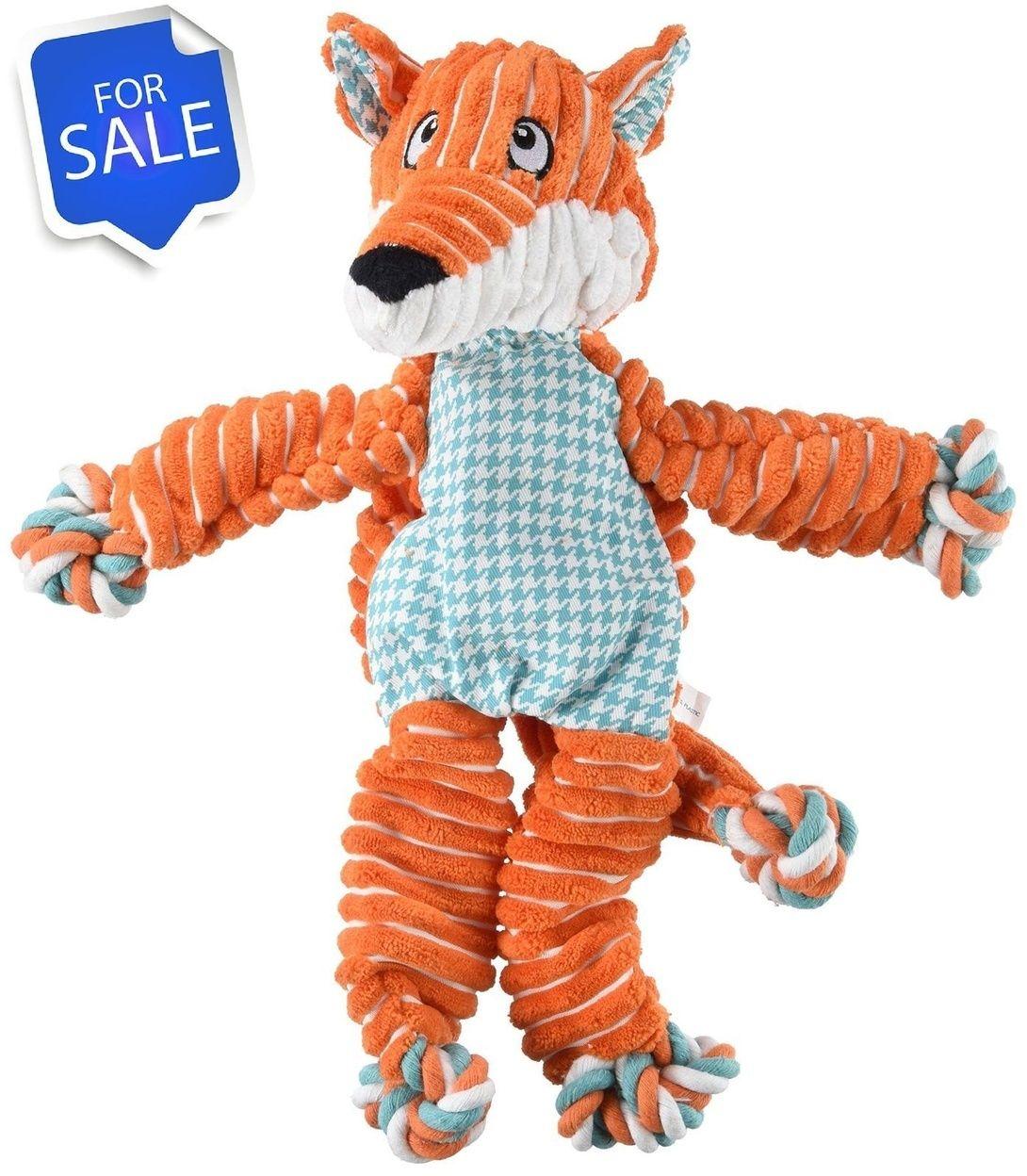 Kong Floppy Knots Fox Tug Dog Toy Medium Large Nkf12 Http Ift
