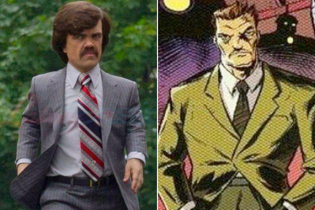 Peter Dinklage As Bolivar Trask Marvel Comic Character Marvel Comics Comic Character