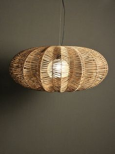 coconut palm woven lampshade Google Search