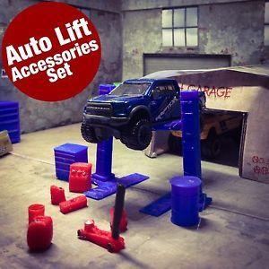 Custom Auto LiftHot Wheels Ford 17 F150 Raptor DiecastScale