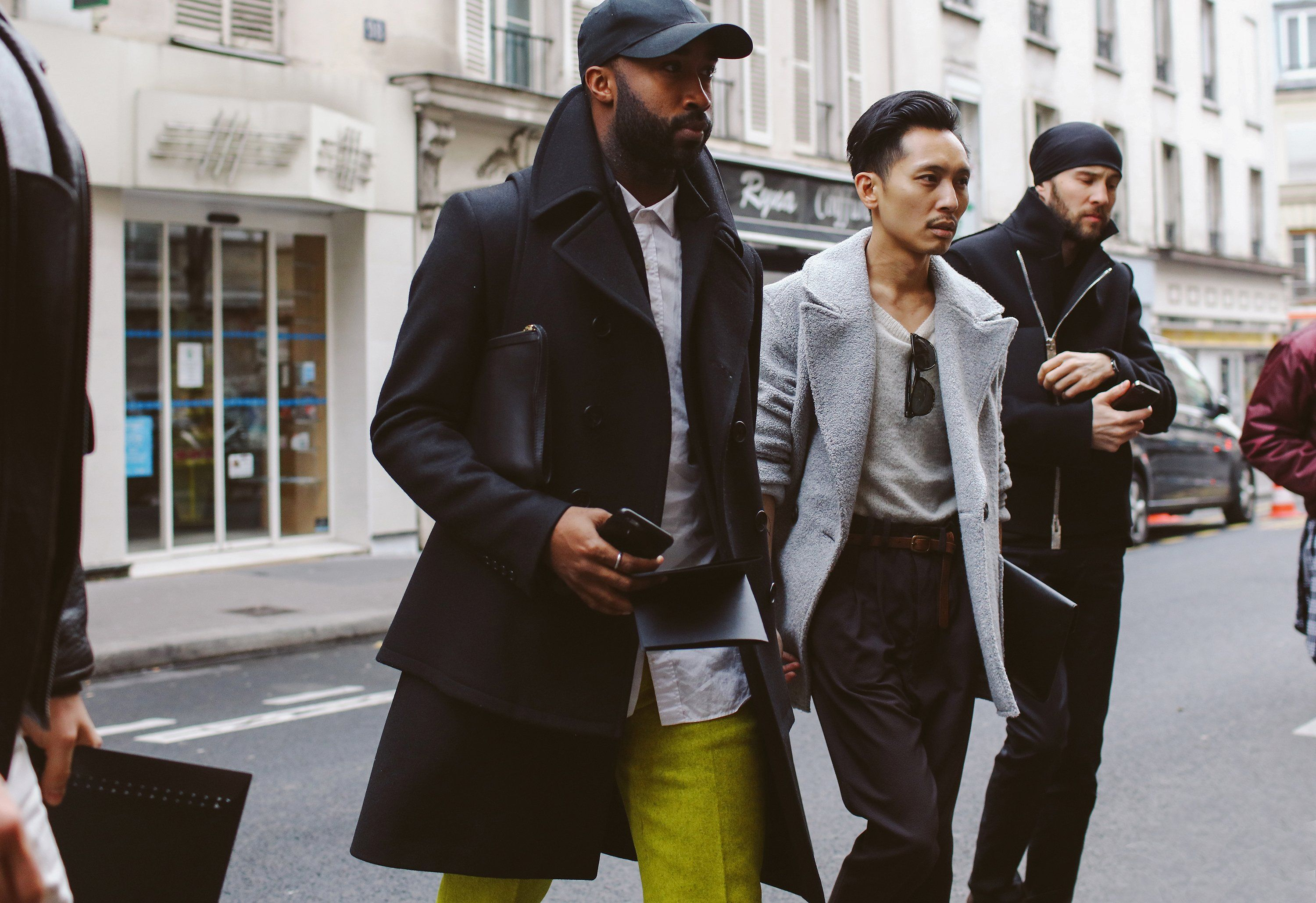 Phil Oh s Best Street Style Pics From the Paris Men s Shows