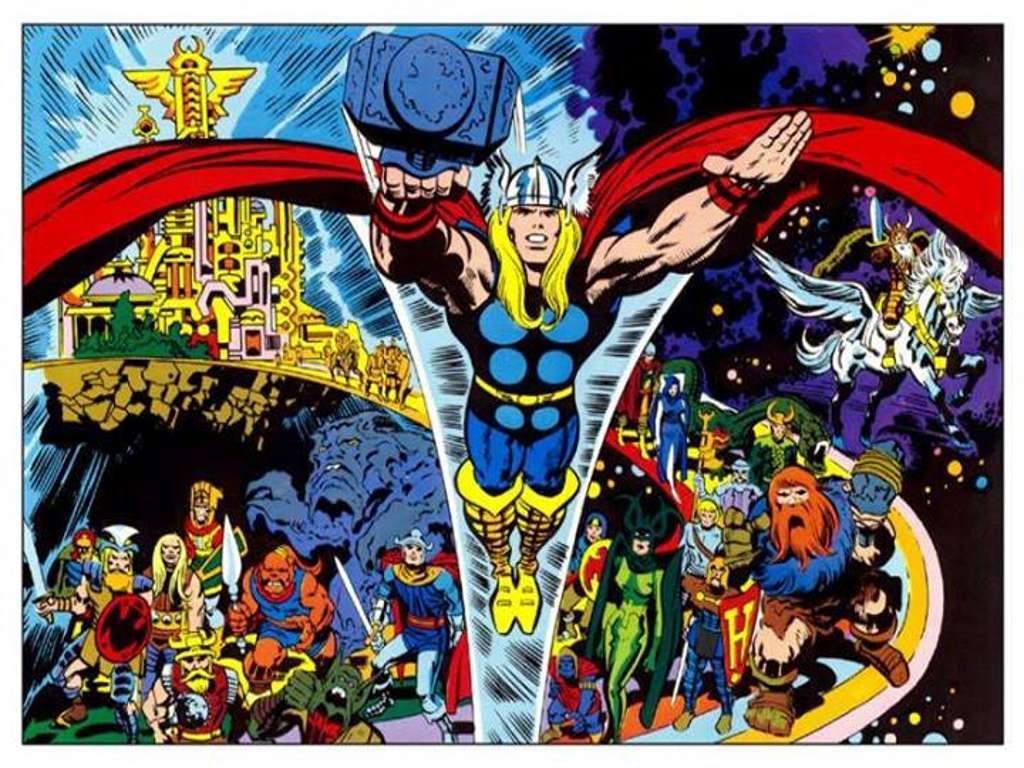 Image result for jack kirby thor
