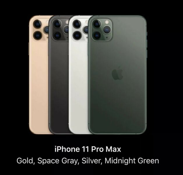 APPLE IPHONE 11 PRO MAX SEPTEMBER 20 2019 PREORDER